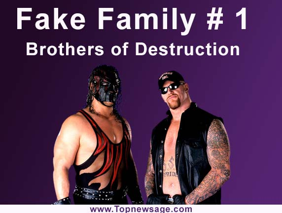 fake families in wwe number 1 Brothers of Destruction