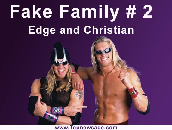 fake families in wwe number 2 Edge and Christian