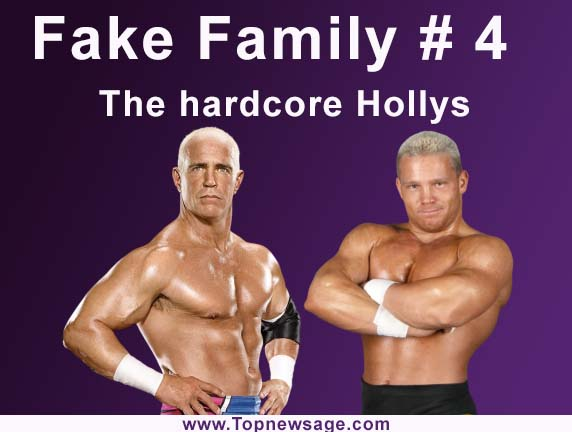 fake families in wwe number 2 The hardcore Hollys